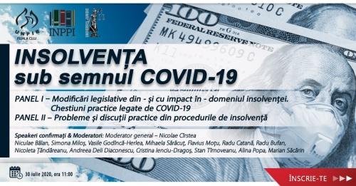 Videoconferința Insolvența sub semnul COVID-19