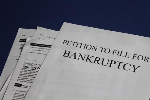 Dinamică profesioniști intrați în insolvență în luna iulie