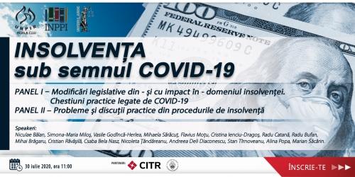 Programul Conferinței Insolvența sub semnul COVID-19